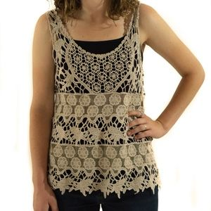 New with Tags Lace Tank